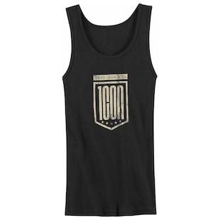 Icon 1000 Women's Crest Tank (Size LG Only) (Color: Black / Size: LG) 822803