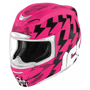 Icon Airmada Stack Helmet (Color: Pink / Size: 2XS) 847688