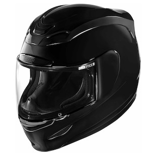 Icon Airmada Helmet - Gloss Solid (Color: Black / Size: XS) 847719