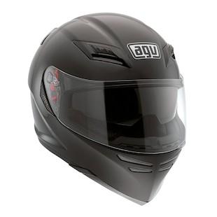 AGV Horizon Helmet - Solid (Size SM Only) (Color: Black / Size: SM) 847589