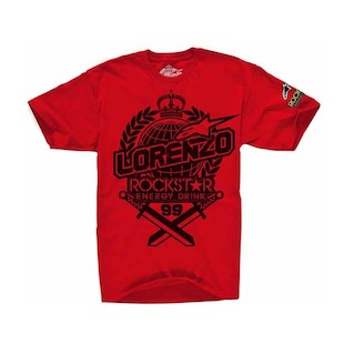 Alpinestars Prestige Lorenzo T-Shirt (Color: Red / Size: 2XL) 848715