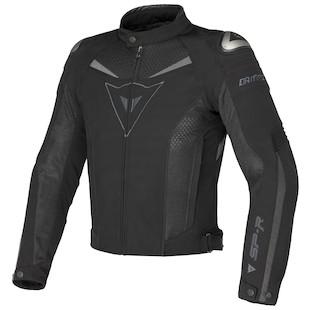 Dainese Super Speed Textile Jacket (Color: Black/Black/Dark Grey / Size: 44) 853666