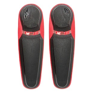Alpinestars Replacement Toe Sliders 2011-2012 SMX Plus Boots (Color: Red/Black) 825894