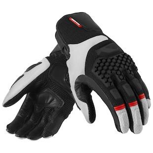 REV'IT! Sand Pro Gloves (Color: Silver/Black / Size: SM) 868869