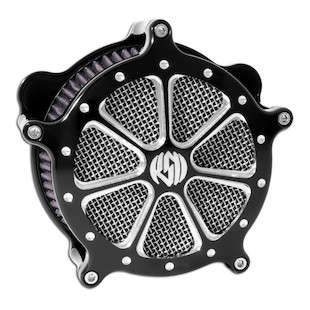 Roland Sands Venturi Speed 7 Air Cleaner For Harley Big Twin 1993-2017 (Finish: Contrast Cut) 871495