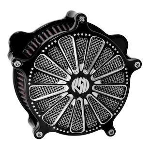 Roland Sands Venturi Domino Air Cleaner For Harley Big Twin With S&S Carburetor 1993-2006 (Finish: Contrast Cut) 871528