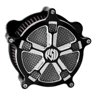 Roland Sands Venturi Turbo Air Cleaner For Harley Big Twin With S&S Carburetor 1993-2006 (Finish: Contrast Cut) 871523