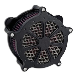 Roland Sands Venturi Speed 7 Air Cleaner For Harley Big Twin 1993-2017 (Finish: Black Ops) 871585