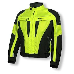Olympia Airglide 4 Jacket (Size XS Only) (Color: Neon Yellow/Black / Size: MD) 872008
