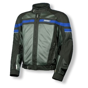 Olympia Renegade Jacket (Color: Black/Pewter/Blue / Size: 3XL) 872019