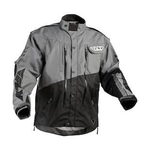 Fly Racing Patrol Jacket (Color: Grey/Black / Size: SM) 874937