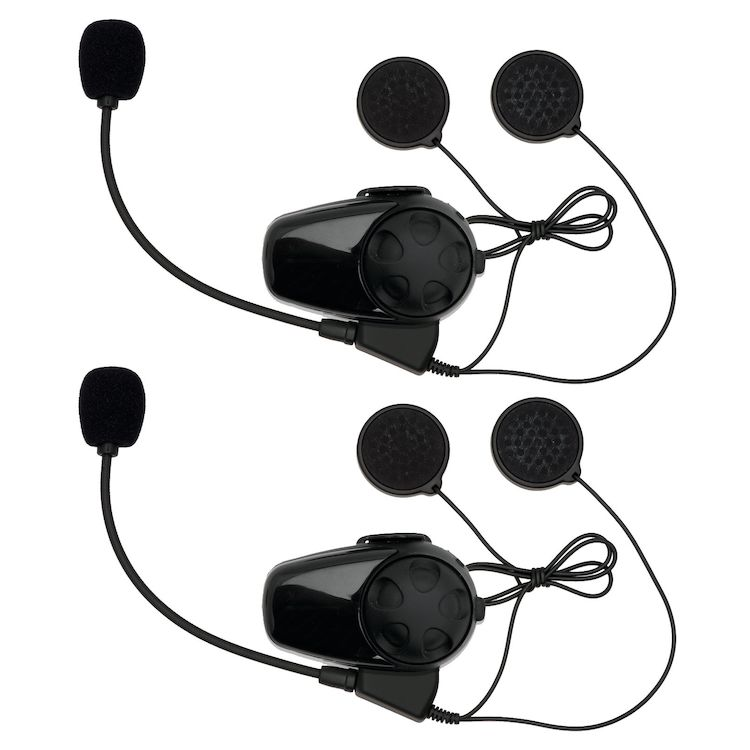 Bell Mag-9 / Qualifier DLX Sena SMH-10 Bluetooth Headset - Dual Pack