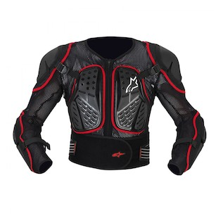Alpinestars Bionic 2 Protection Jacket (Color: Black/Red / Size: SM) 303619