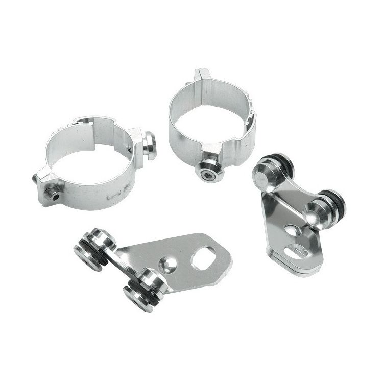Memphis Shades Independent Lowers Kit For Harley Wide Glide / Softail / Dyna 1985-2010