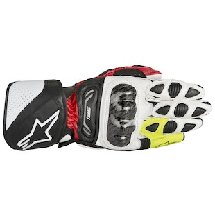 Alpinestars SP-1 Vented Shoes (Color: Black/Red/Fluo Yellow / Size: 38) 1012038