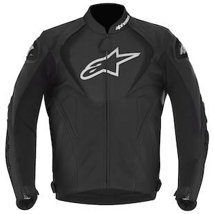 Alpinestars Jaws Leather Jacket (Color: Black / Size: 64) 880736