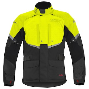 Alpinestars Andes Drystar Jacket (Color: Black/Flo Yellow / Size: LG) 880829