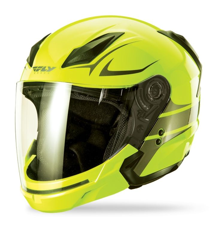 Hi Viz High Visibility Motorcycle Helmets Cycle Gear