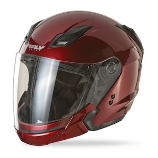 Fly Tourist Helmet - Solids (Color: Candy Red / Size: MD) 881067