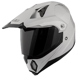 Speed and Strength SS2500 Solid Speed Helmet (Color: Silver / Size: MD) 876344