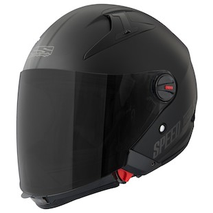 Speed and Strength SS2200 Spin Doctor Helmet (Color: Matte Black / Size: SM) 876244