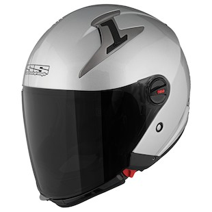 Speed and Strength SS2200 Solid Speed Helmet (Color: Silver / Size: 2XL) 876336