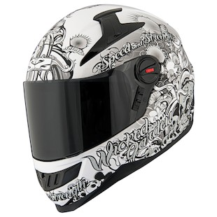 Speed and Strength SS1300 Solid Speed Helmet (Color: Silver / Size: XS) 876303