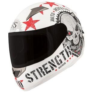 Speed and Strength SS1100 Moto Mercenary Helmet (Color: Black / Size: XL) 838818