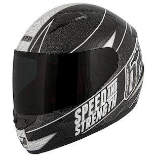 Speed and Strength SS1100 Urge Overkill Helmet (Color: Black/Grey / Size: XL) 942764