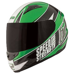 Speed and Strength SS1100 Full Face Helmet - Solid Speed Mens Sizes - SS1100-SOLID-SPEED 122664
