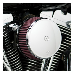 Arlen Ness Stage 1 Big Sucker Stainless Jacketed Filter Air Cleaner Kit For Harley CVO (Type: Smooth Chrome Steel Cover) 878258
