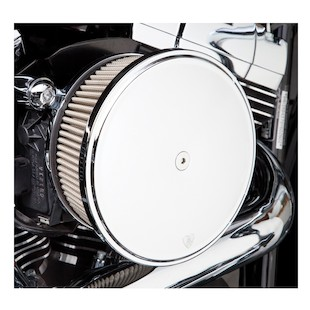 Arlen Ness Stage 2 Big Sucker Air Cleaner Kit For Harley 2008-2017 (Material: Standard Air Filter / Type: Smooth Billet Aluminum Cover) 878104