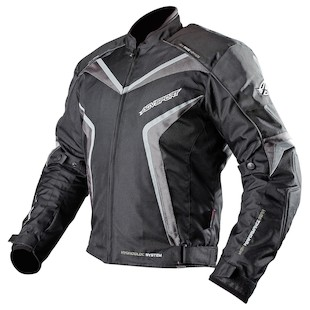AGV Sport Sniper Jacket (Color: Black/Gunmetal / Size: 2XL) 883158
