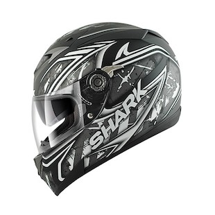 Shark S700 Jost Lumi Helmet (Size LG Only) (Color: Black/Grey/White / Size: LG) 884481