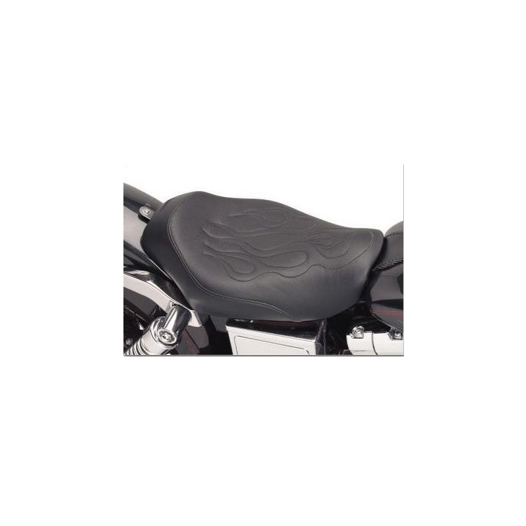 Saddlemen Tattoo Solo Seat For Harley Touring 1997-2007