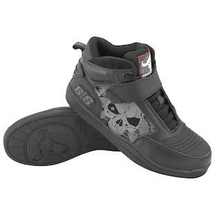 Speed and Strength Moto Mercenary Shoes (Color: Black / Size: 10) 884606