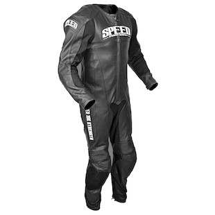Speed and Strength Triple Crown Race Suit (Color: Black / Size: 42) 884742