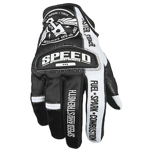 Speed and Strength Top Dead Center Gloves (Color: Black/White / Size: 2XL) 884630