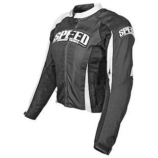 Speed and Strength Throttle Body Women's Jacket (Color: Black / Size: WMD) 884710