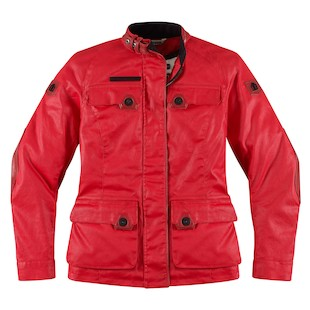 Icon 1000 Akorp Women's Jacket (Color: Red / Size: LG) 886914