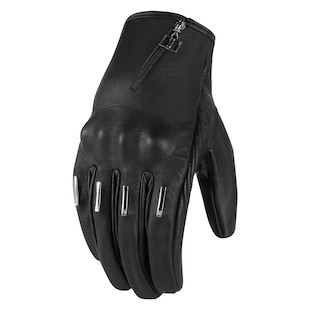 Icon 1000 Hella Kangaroo Short Women's Gloves (Color: Black / Size: MD) 887125