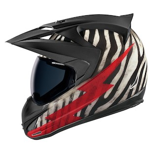 Icon Variant Big Game Helmet (Color: Black/White/Red / Size: XS) 886581