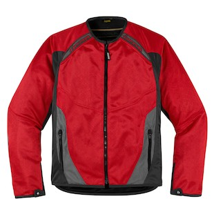 Icon Anthem Mesh Jacket (Color: Red / Size: 2XL) 886794