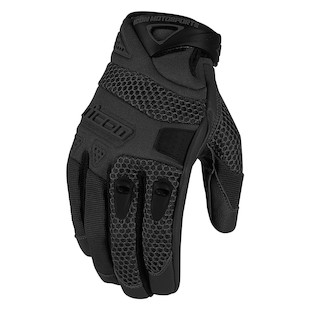 Icon Anthem Gloves (Color: Stealth Black / Size: XL) 887079
