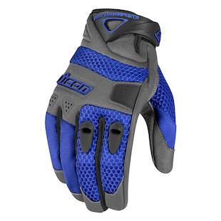 Icon Anthem Gloves (Color: Blue / Size: 2XL) 887087