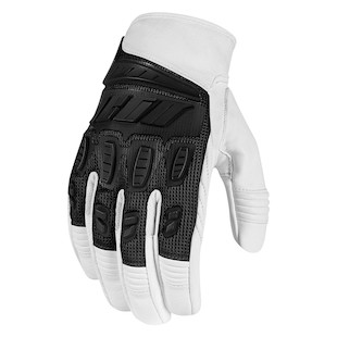 Icon Hooligan Gloves (Color: White / Size: 2XL) 887074