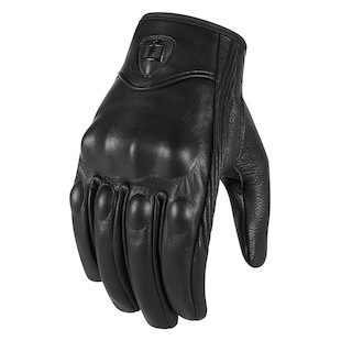 Icon Pursuit Stealth Touch Screen Gloves (Color: Stealth Black / Size: LG) 822685
