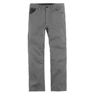 Icon Hooligan Denim Pants (Color: Grey / Size: 28) 886881