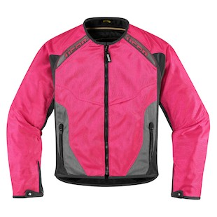 Icon Anthem Women's Mesh Jacket (Color: Pink / Size: XL) 886902
