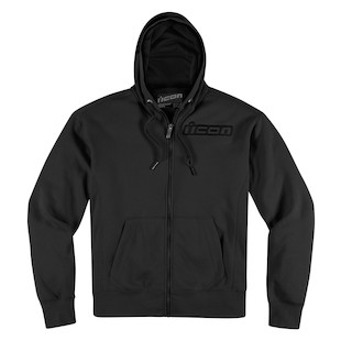 Icon Upper Slant Hoody (Color: Black / Size: 2XL) 887012